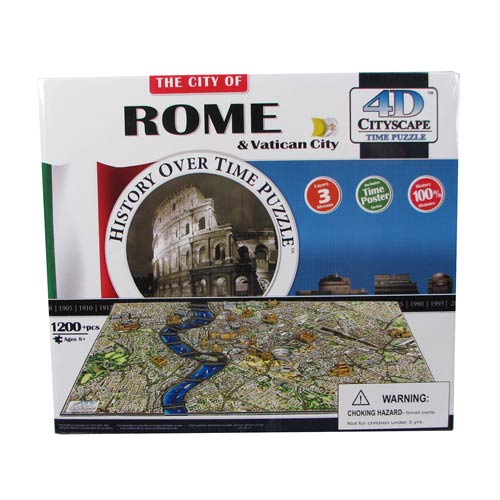 Rome Italy 4D Puzzle