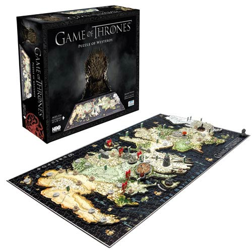 Game of Thrones Guide to Westeros 4D Cityscape Puzzle