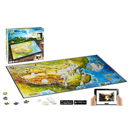 National Geographic Ancient China 4D Puzzle