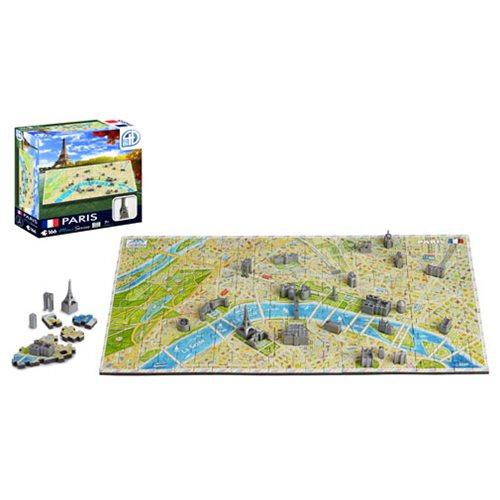 Paris France Mini 4D Puzzle