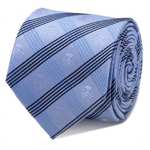 Star Wars Stormtrooper Blue Plaid Italian Silk Tie