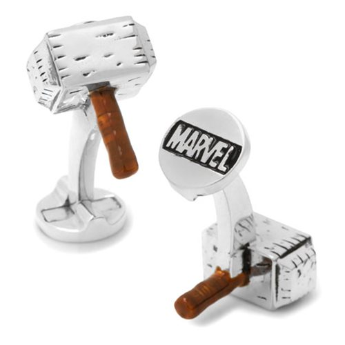 Thor Hammer 3D Cufflinks