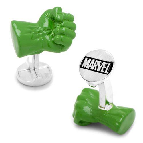 Hulk Fist 3D Cufflinks