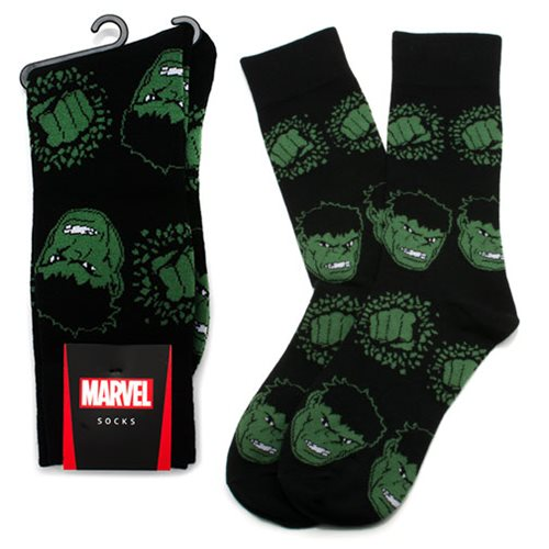 Hulk Black Socks