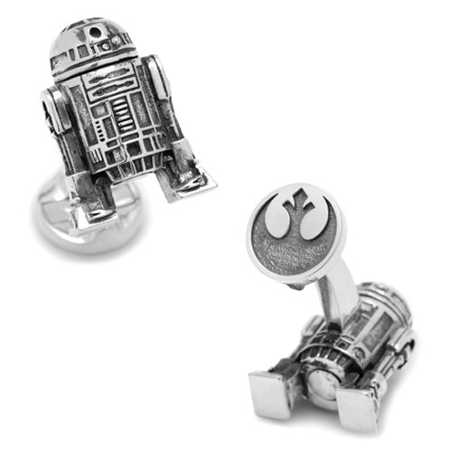 Star Wars R2-D2 3D Cufflinks