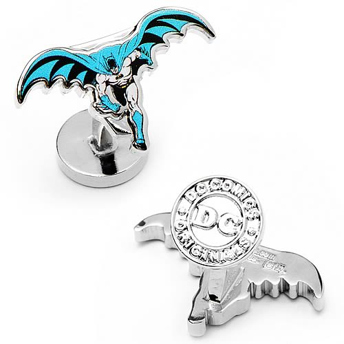 Batman Running Cufflinks