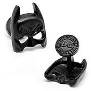 Batman Classic Satin Black Mask Cufflinks