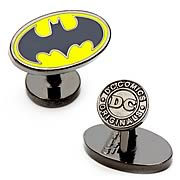 Batman Logo Oval Cufflinks
