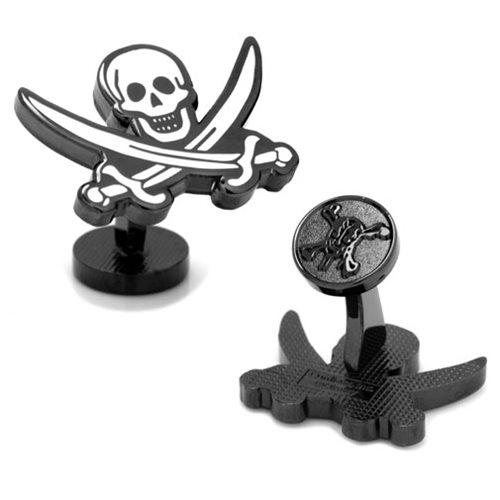 Pirates of the Caribbean Black Pearl Flag Cufflinks