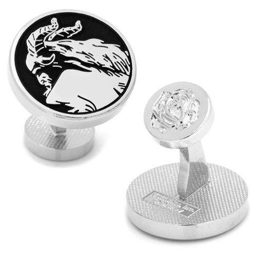 Beauty and the Beast Live Action Beast Silhouette Cufflinks