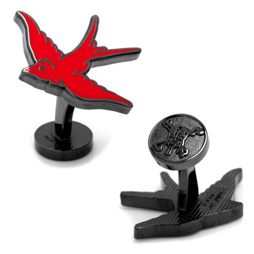 Pirates of the Caribbean Red Sparrow Cufflinks