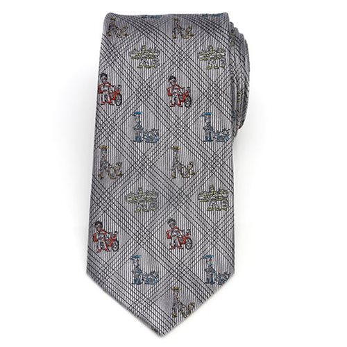 Toy Story Symbols Black Men's Tie