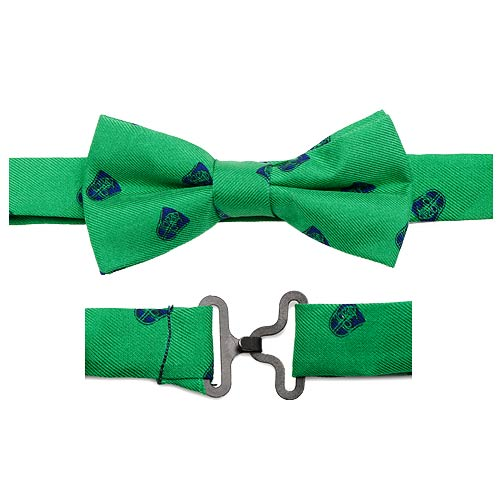 Star Wars Darth Vader Green Summer Boys Silk Clip-On Bowtie