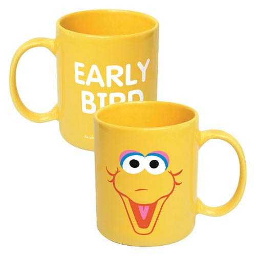 Sesame Street Big Bird Big Face Ceramic Mug