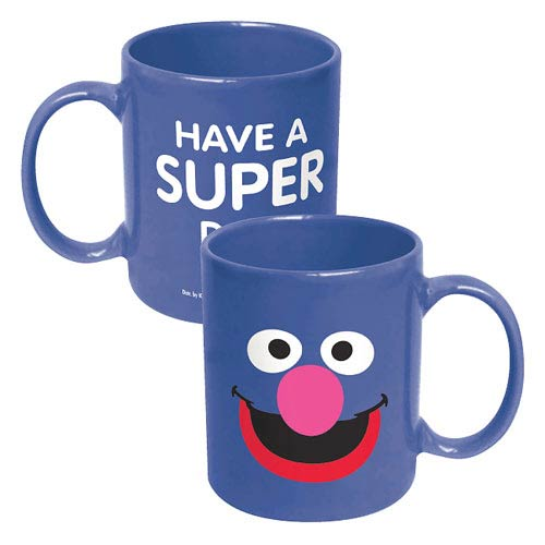 Sesame Street Grover Big Face Ceramic Mug