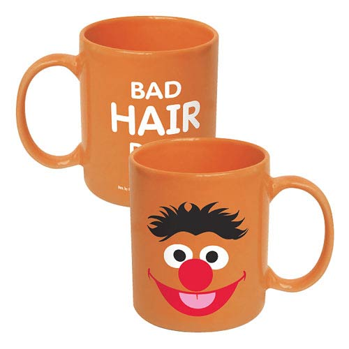 Sesame Street Ernie Big Face Ceramic Mug