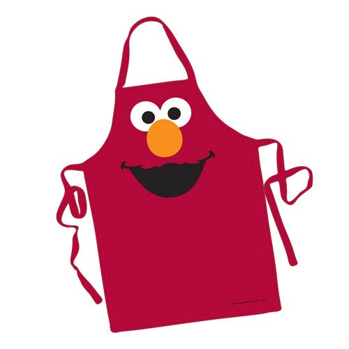 Sesame Street Elmo Big Face Apron