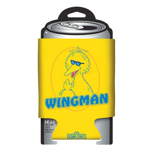 Sesame Street Big Bird Wingman Can Hugger