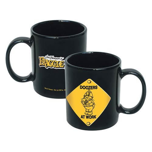 Fraggle Rock Doozers At Work Ceramic Mug
