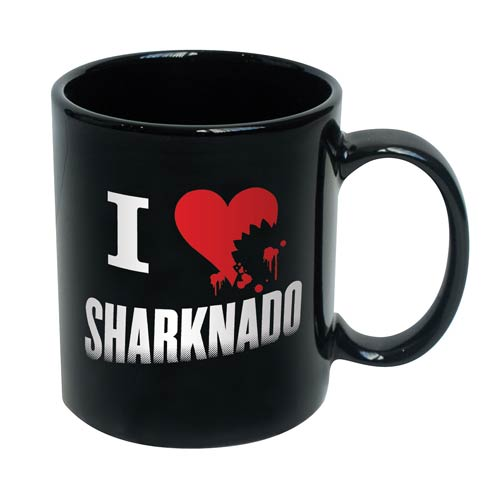 Sharknado I Love (Heart) Sharknado 11 oz. Ceramic Mug