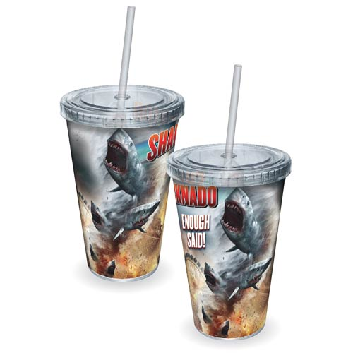 Sharknado Enough Said Acrylic Travel Cup