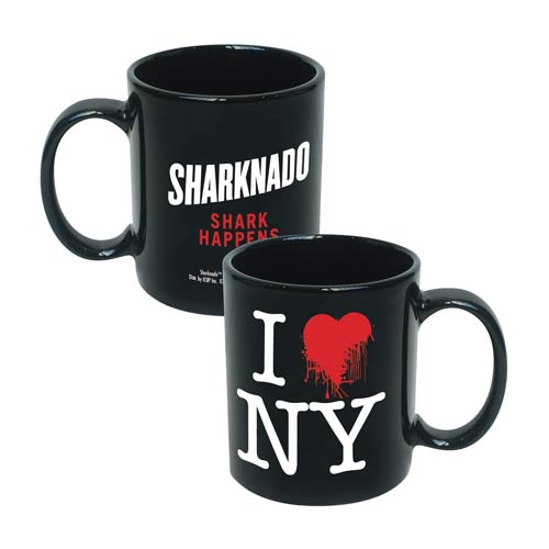 Sharknado I Love New York Shark Happens Mug