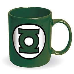 Green Lantern Logo Green Coffee Mug