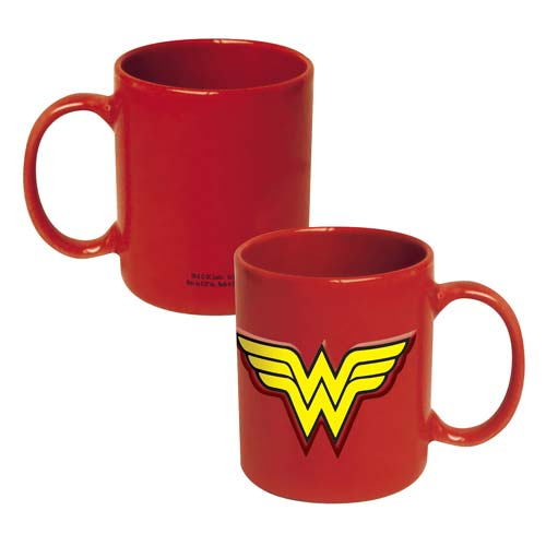 Wonder Woman Logo 20 oz. DC Comics Embossed Mug