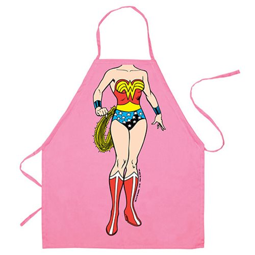 Wonder Woman Be The Character Kids Apron
