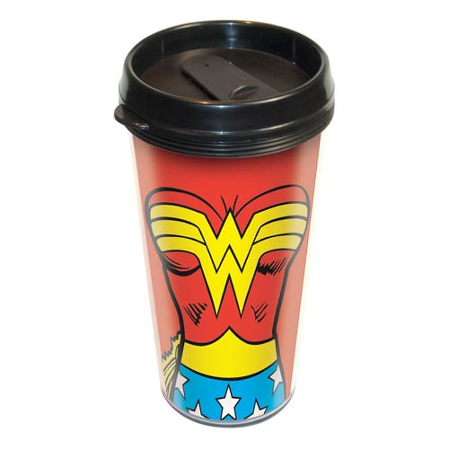 Wonder Woman Uniform Travel Mug