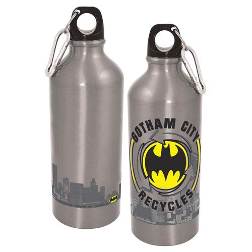 Batman Gotham Recycles Aluminum Water Bottle