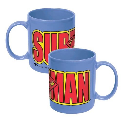 Superman Logo Wrap Mug