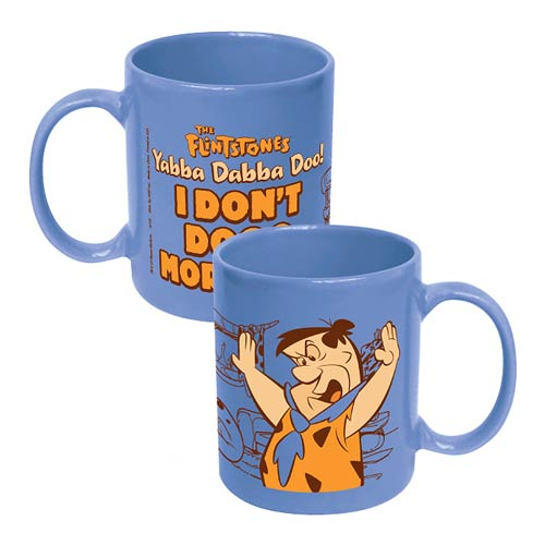 The Flintstones Fred I Don't Dooo Mornings Ceramic Mug