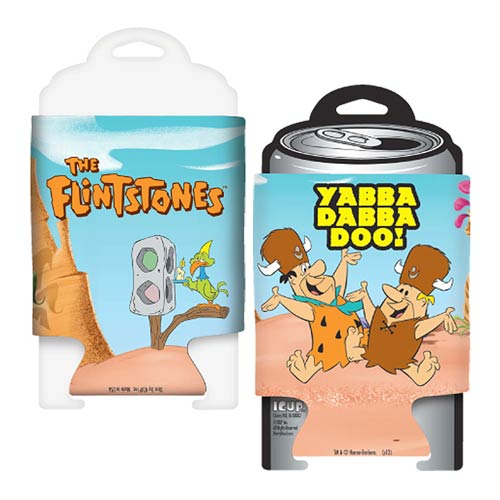 The Flintstones Fred and Barney Yabba Dabba Doo Can Hugger
