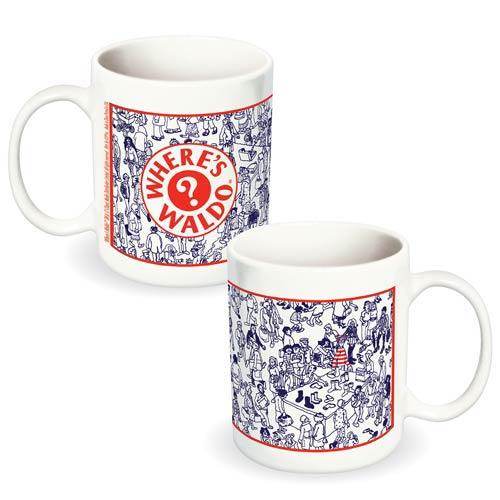 Where's Waldo? Department Store Ceramic Mug