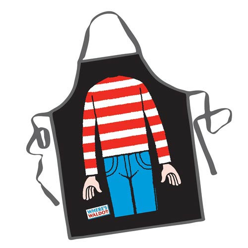 Where's Waldo? Be the Character Apron