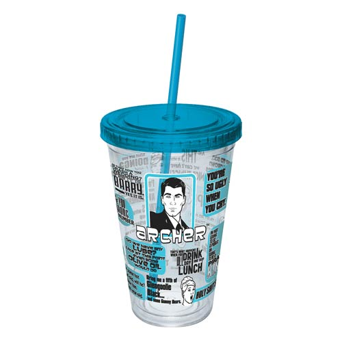 Archer Quotes Acrylic Travel Cup
