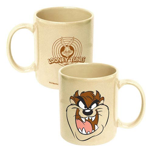 Looney Tunes Taz the Tasmanian Devil Face Tan Mug
