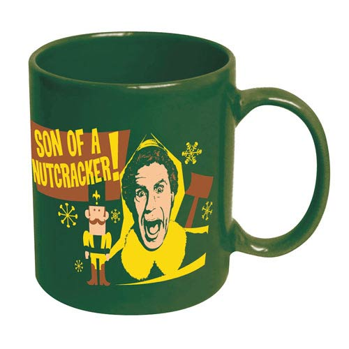 Elf Son of a Nutcracker Ceramic Mug