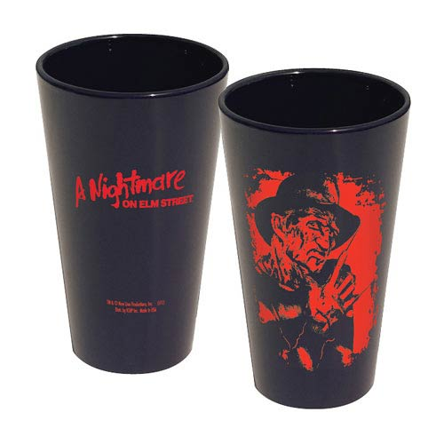 Nightmare on Elm Street Freddy Portrait Pint Glass