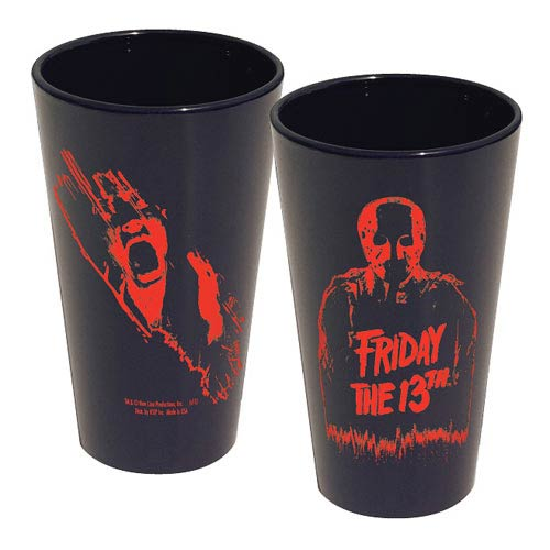 Friday the 13th Jason Silhouette Pint Glass