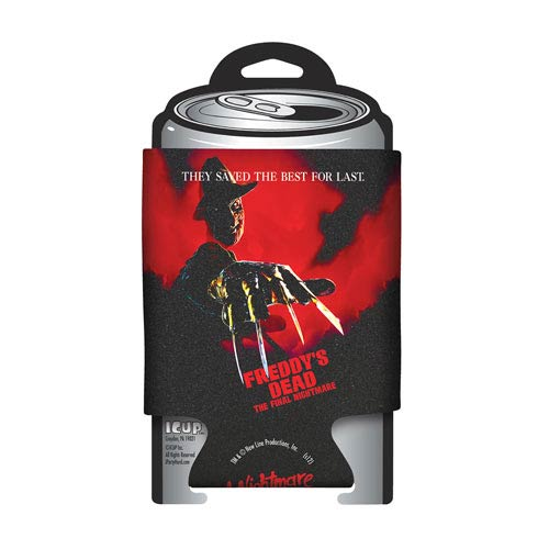 Nightmare on Elm Street Freddy's Dead Poster Can Hugger