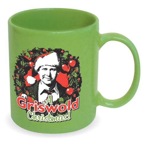 National Lampoon Christmas Vacation Griswold Wreath Mug