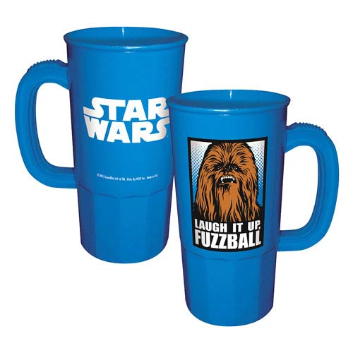 Star Wars Chewbacca Laugh It Up Fuzzball Plastic Stein