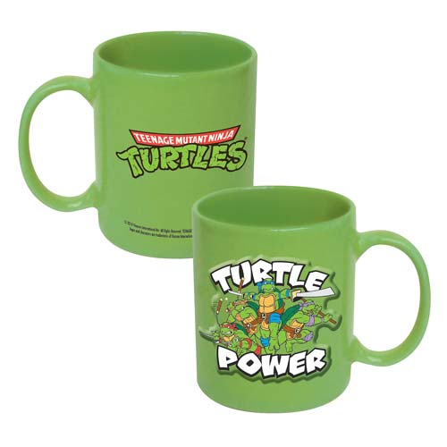 Teenage Mutant Ninja Turtles Turtle Power 20 oz. Mug
