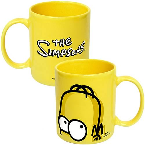 Simpsons Homer's Head Ceramic Mug