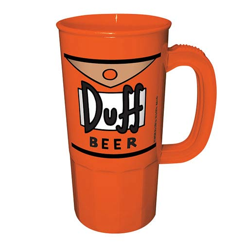 The Simpsons Duff Beer Plastic Stein
