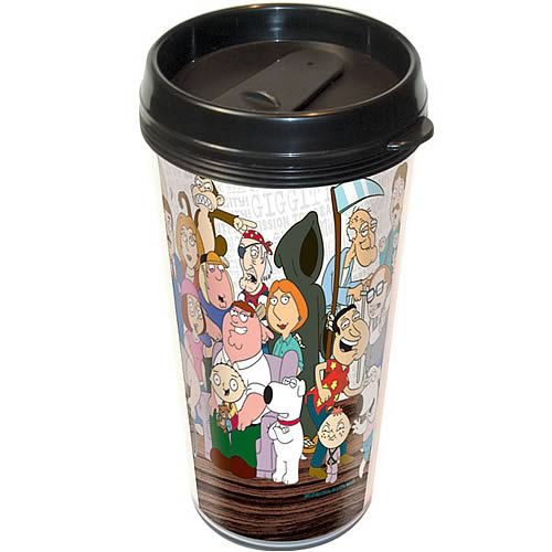 Family Guy Cast Travel Mug