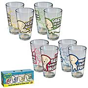 Family Guy Stewie Pint Glasses 4-Pack