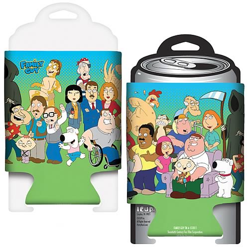 Family Guy Cast Beer Can Hugger